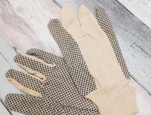 Te koop: 3 dozen Polkadot handschoenen